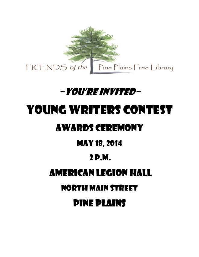 2014 Young Writers Contest Invitation