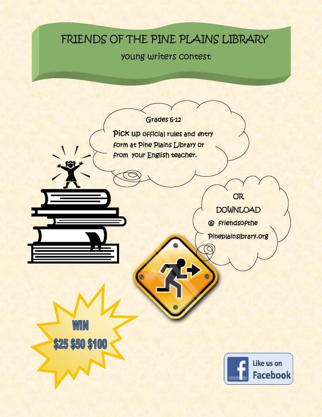 2015 Young Writers Contest Poster