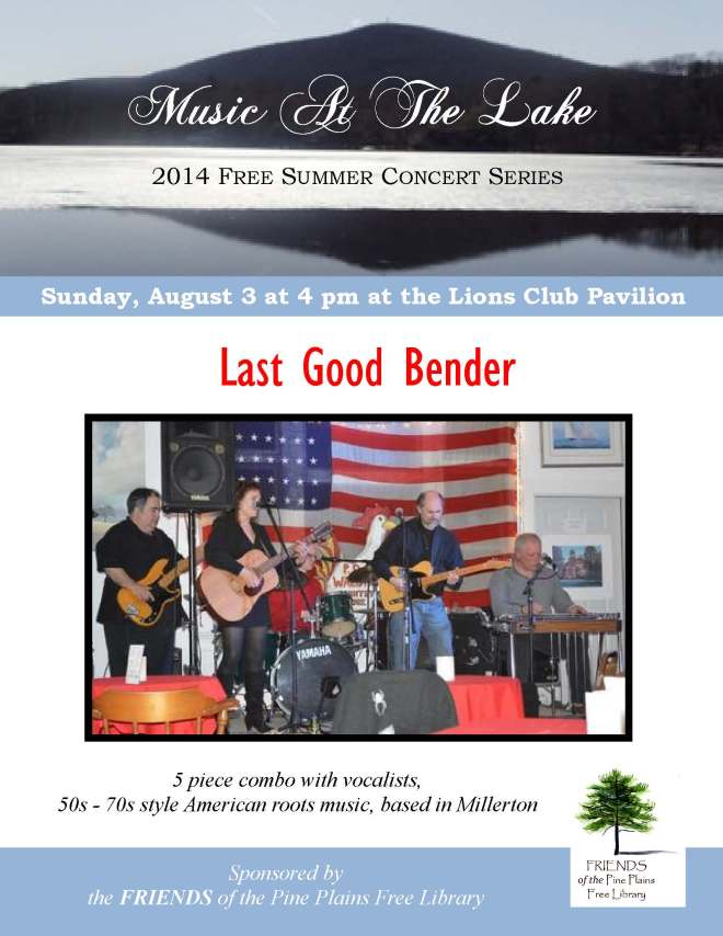 Last Good Bender Aug. 3, 2014