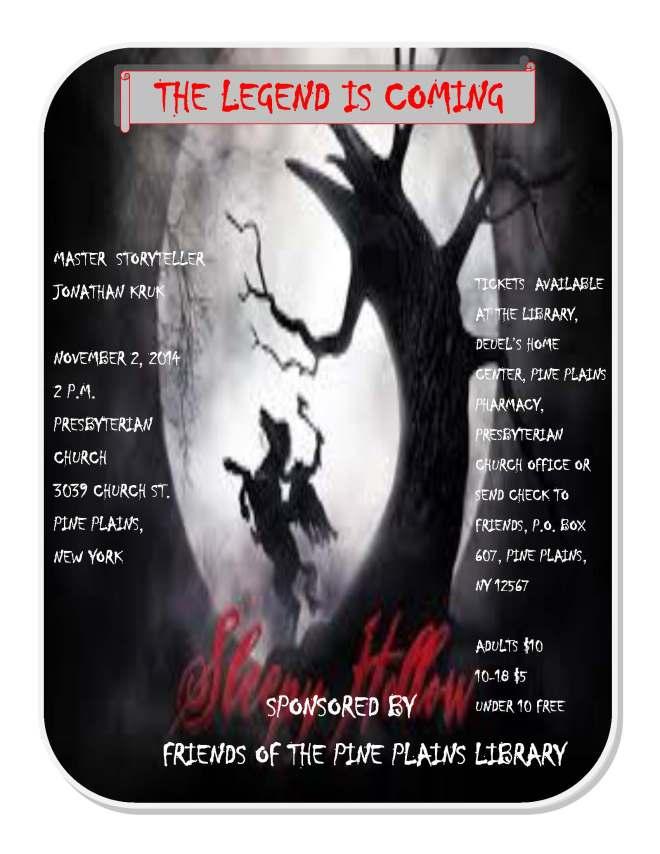 legend of sleepy hollow poster 4