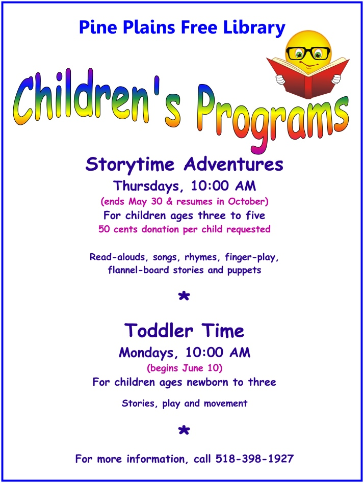 Library Children's Programs