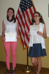 Mari Thompson and Emma Krasinski - middle school fiction