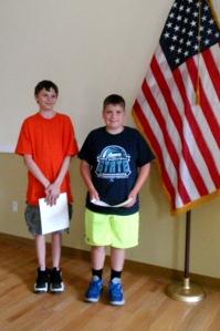 Justin Briehof and David Prentice - middle school non-fiction