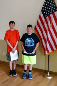 Justin Briehof and David Prentice - middle school non-fiction
