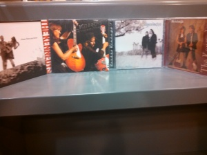 The Kennedys albums are available at the Pine Plains Library