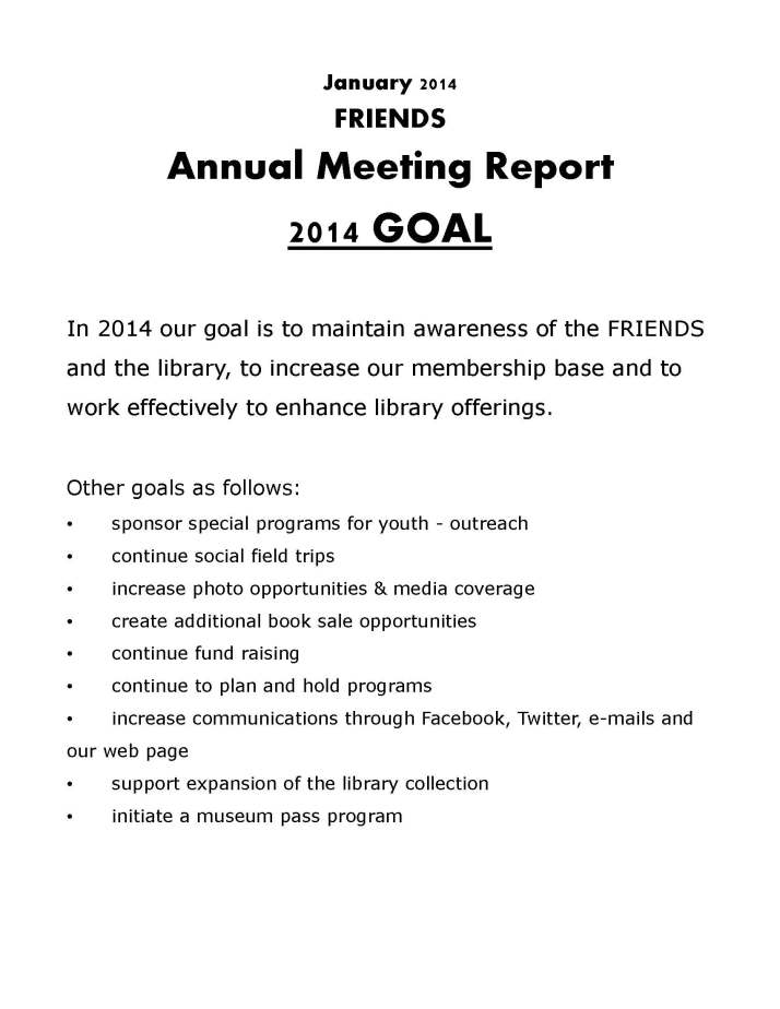 FRIENDS 2014 Goals and Accomplishments_Page_1