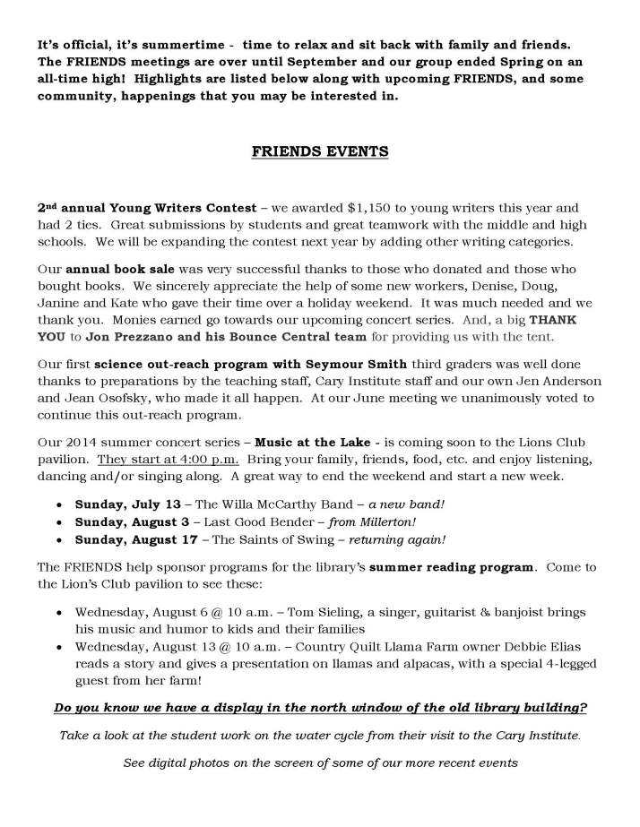 FRIENDS June2014 newsletter_Page_1