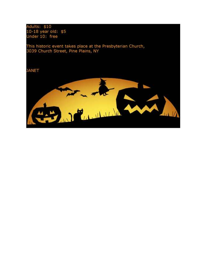 FRIENDS halloween weekend events 2014 page 2_Page_2