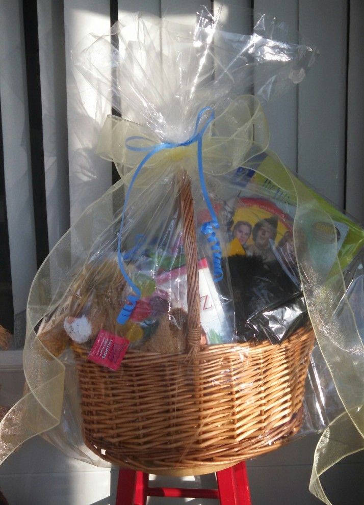 Wizard of Oz Gift Basket