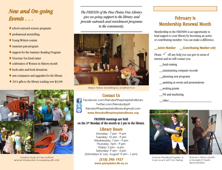 2015 Brochure Page 2