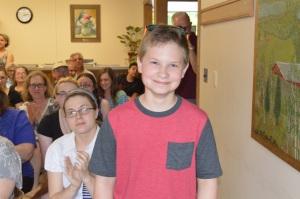 Eliott Wilser 3rd Place Fiction Grades 6-8