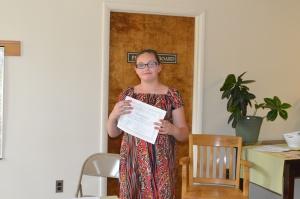 Victoria Douglass 2nd Place Non-Fiction Grades 6-8
