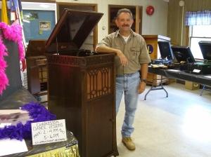 M. Kemp loves his music