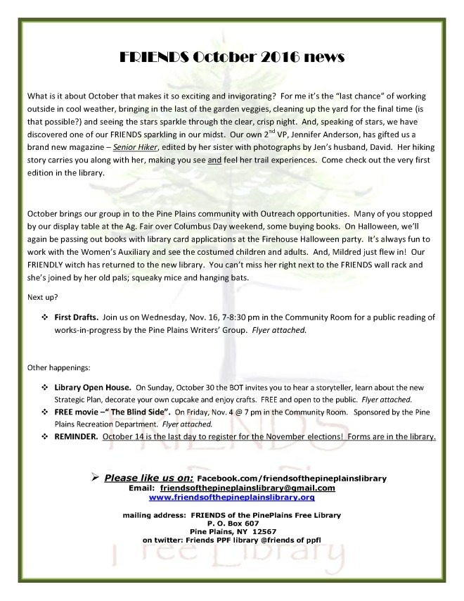 friends-early-october-2016-newsletter