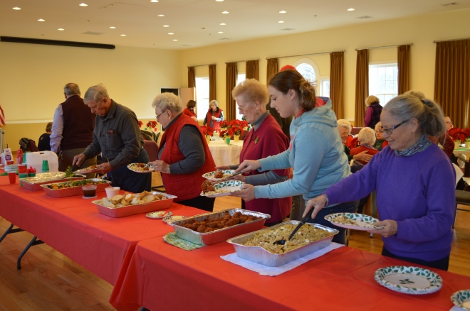 Luncheon sponsored by Pine Plains Recreation and the Friends. Food from The Platter.