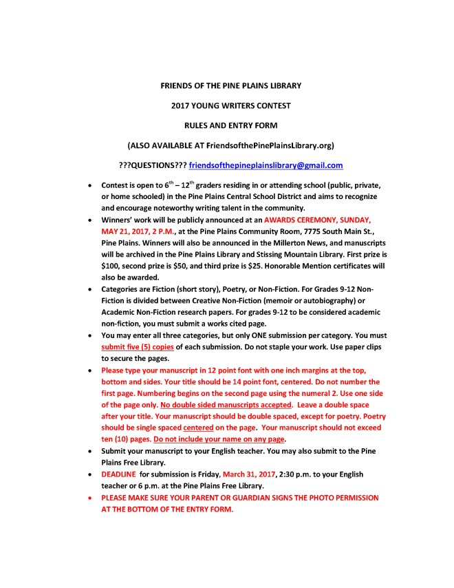 young-writers-contest-2017-rules