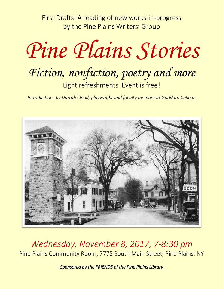 Pine Plains Stories Pp Adult Writers Group